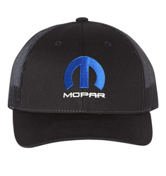"""MOPAR""<br>Trucker Low Profile Black Cap"