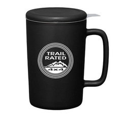 """JEEP TRAIL RATED""<br>CERAMIC MUG WITH LID"