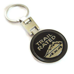 """JEEP TRAIL RATED""<br>Keychain"