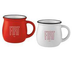 """FIAT""<br>Ceramic Coffee Mug"