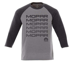 """MOPAR""<br>3/4 Sleeve T-Shirt for Men"