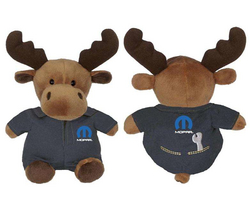 """MOPAR""<br>Moose Mechanic Stuffie"