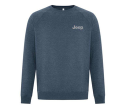 """JEEP""<br>Vintage Crewneck Heather Sweatshirt"