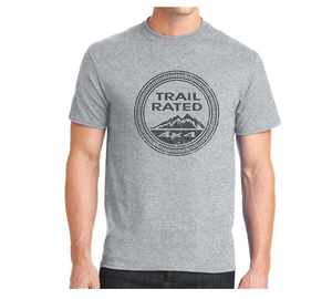 """JEEP TRAIL RATED""<br>Adult T-Shirt"